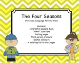 Four Seasons - Interactive Book & Activity Pack