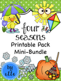 Four Seasons Printable Pack Mini-Bundle