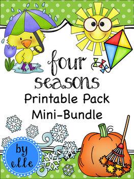 Four Seasons Printable Pack Mini-Bundle