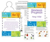 Four Seasons Projects Packet