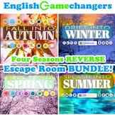 Four Seasons REVERSE Escape Room BUNDLE: Break IN to ANY L