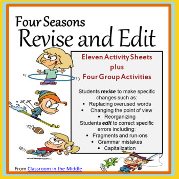 Four Seasons Revise and Edit