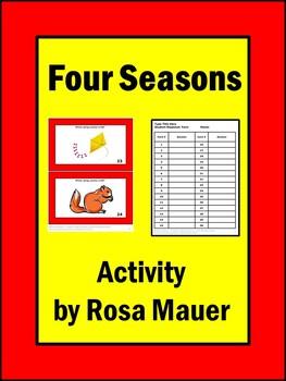 Seasons Activities Task Cards