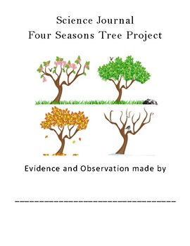 Four Seasons Trees Writing