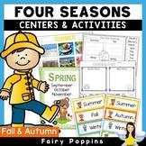 Four Seasons - Charts, Worksheets & Sorting Activities