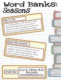Four Seasons Word Banks