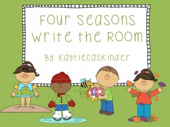 Four Seasons Write the Room: Winter, Spring, Summer, Fall