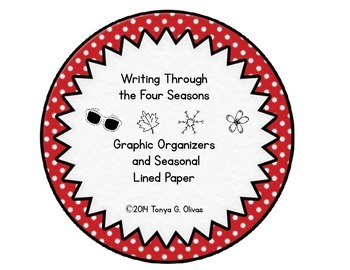 Four Seasons Writing Activity Packet