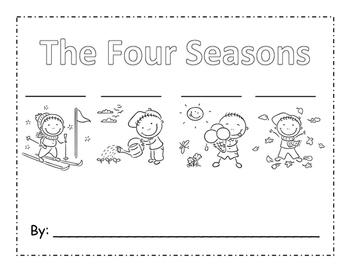 Four Seasons Writing Book