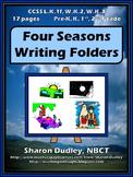 Four Seasons Writing Folders
