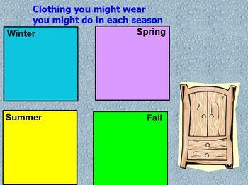 Four Seasons flipchart