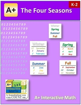 Four Seasons (lesson and a worksheet)