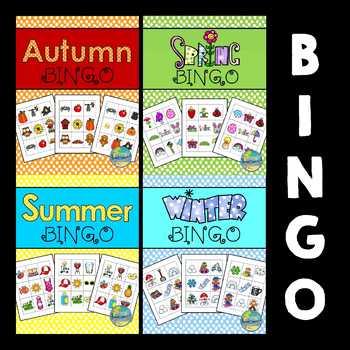 Four Seasons of BINGO Games