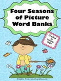Four Seasons of Picture Word Banks