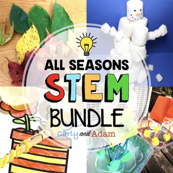 Seasonal STEM Bundle: 16 STEM CHALLENGES
