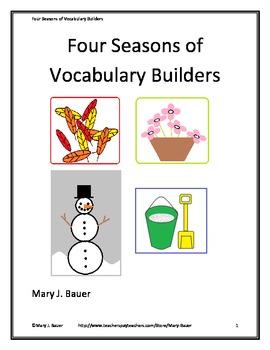 Four Seasons of Vocabulary Builders