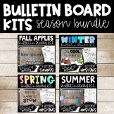 Four Seasons (winter, spring, summer, fall) Bulletin Board Kit BUNDLE