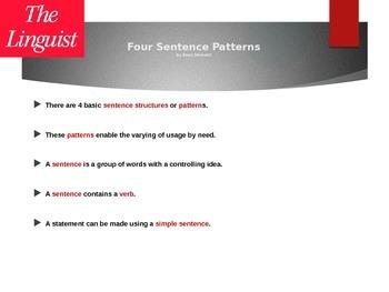 Four Sentence Patterns