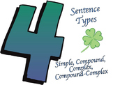 Four Sentence Types: Simple, Compound, Complex, Compound-Complex