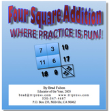 Four Square Addition: Where Practice is Fun!