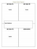 Four Square Graphic Organizer with lines - Spec. Edu. Frie