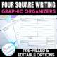 Four Square Graphic Organizers Pack **Editable**