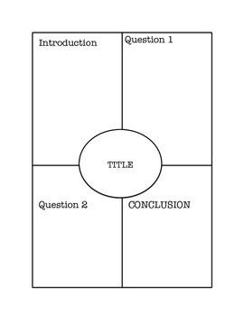 Four Square Graphic Organzier