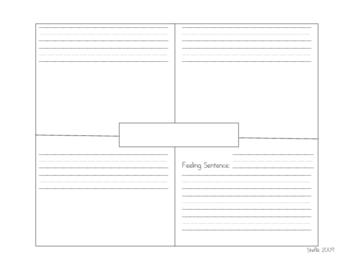 Four Square Journal Page (longer sentences)