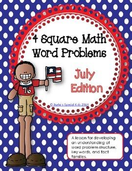 Math Word Problems: July Edition