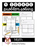 Four Square Problem Solving