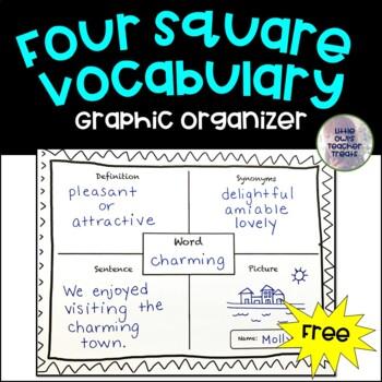 Four Square Vocabulary Activity