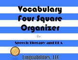 Four Square Vocabulary Organizer