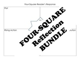 Four-Square BUNDLE for Vocabulary, Reflection, Book Reports, and more!