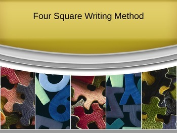 Four Square Writing Method