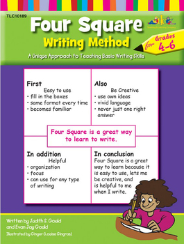 Four Square: Writing Method for Grades 4-6