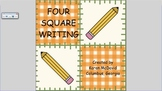 Four Square Writing for the Smart Board