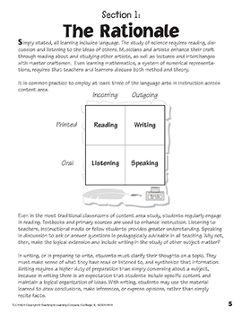 Four Square: Writing in the Content Areas for Grades 1-4