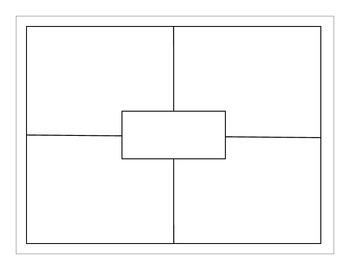 Four Square (blank) by EducPrek12   Teachers Pay Teachers