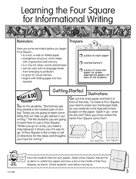 Four Square for Writing Assessment - Elementary