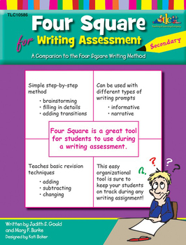 Four Square for Writing Assessment - Secondary