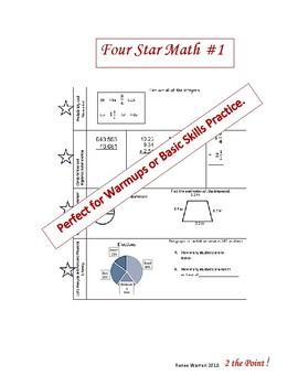 Four Star Math #1
