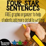 Four Star Sentences: Add Detail to Writing! *Free*