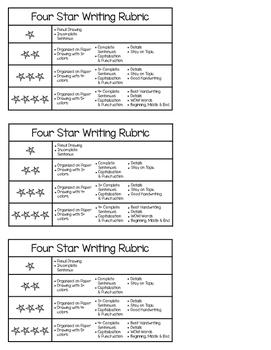 Four Star Writing Rubric