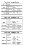 Four Star Writing Rubric
