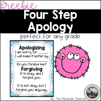 Four Step Apology