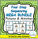 Four Step Sequence MEGA BUNDLE: First, Next, Then, Last Pictures and Activities