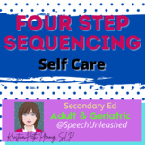Four Step Sequencing Cards, Low Demand Level, Adult Appropriate