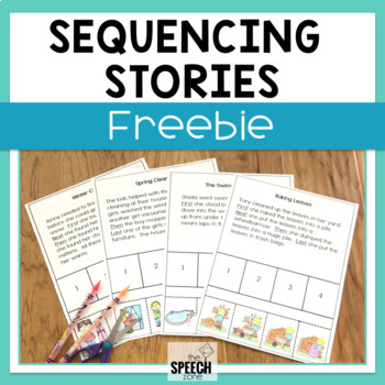 Free Four Step Sequencing Stories
