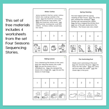 Four Step Sequencing Stories