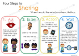 Four Steps to Sharing Classroom Poster